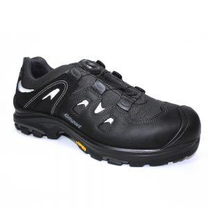 boa lace free safety shoe
