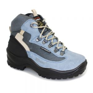 lady wolf pale blue boot